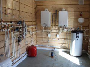 Монтаж отопления для загородного дома в Нижнем Новгороде
