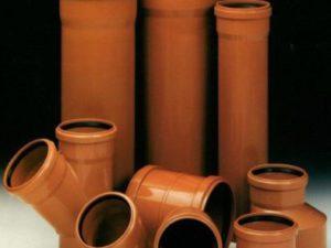 Выбор труб для канализации