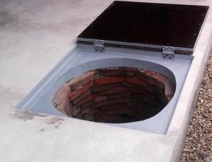 готовая крышка для колодца