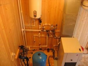 монтаж накопительного водонагревателя