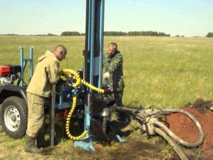 Бурение скважин на воду малогабаритной установкой в Нижнем Новгороде и Нижегородской области