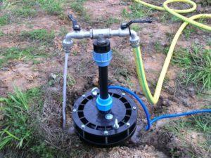 обустройство устья скважины на воду