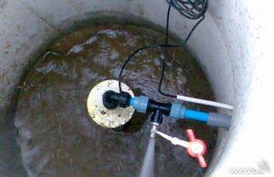 заилилась скважина на воду