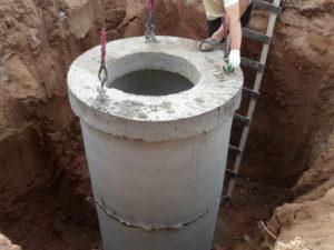 колодец на воду строительство