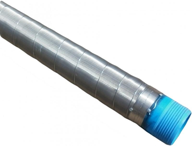 Фильтр для скважины со стальной сеткой галунного плетения