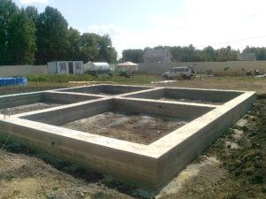 фундамент загородного дома