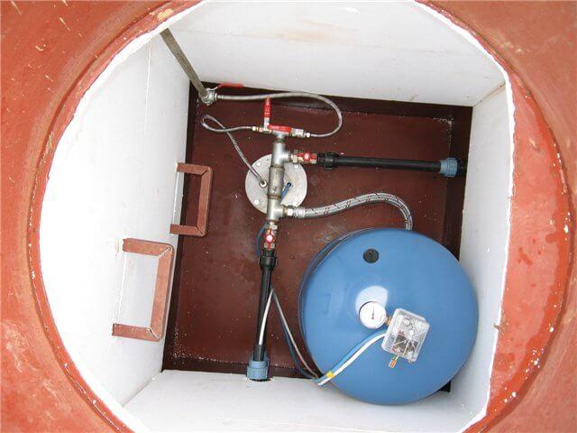 гидроаккумулятор для воды из скважины