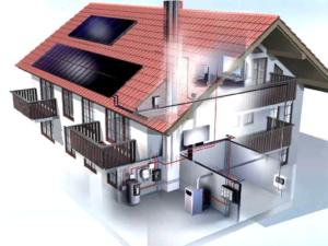системы отопления в загородном доме