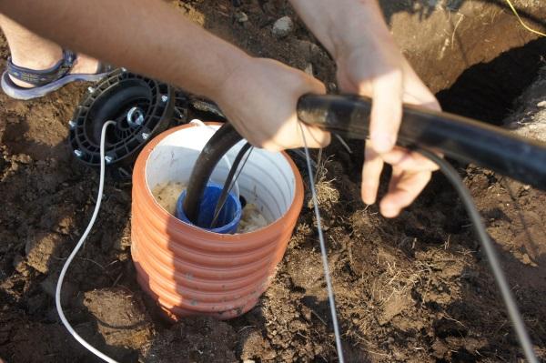 чистка скважины под воду