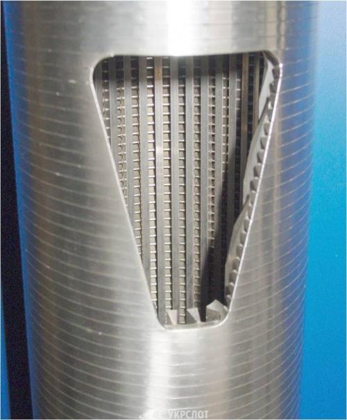 щелевой фильтр для скважины