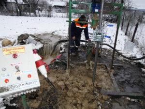 Аварии при бурении скважин на воду