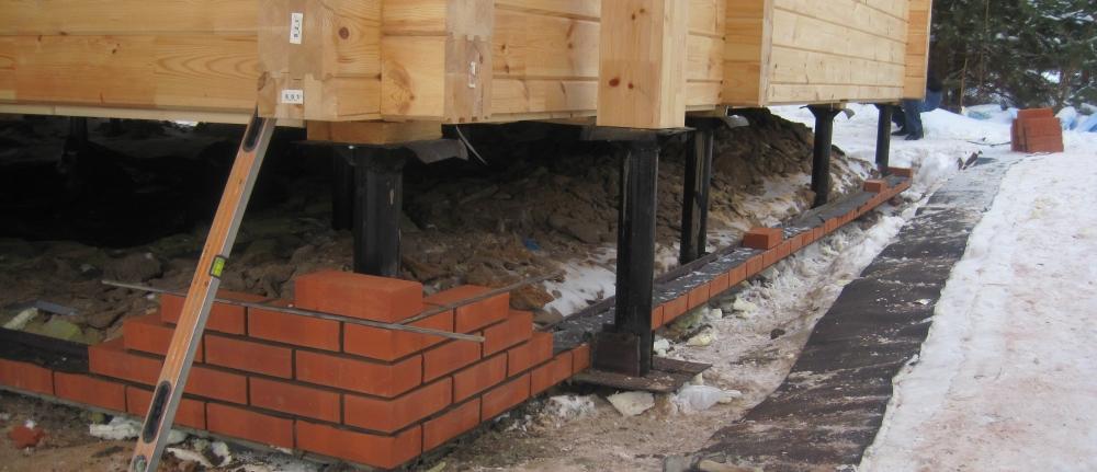 Свайно-винтовой фундамент строительство домов