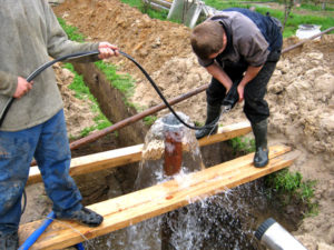 прокачка скважины на воду в Нижнем Новгороде