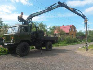 Бурение под винтовые сваи в Нижегородской области