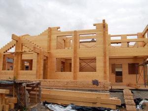 строительство дома в Нижегородской области из клееного бруса