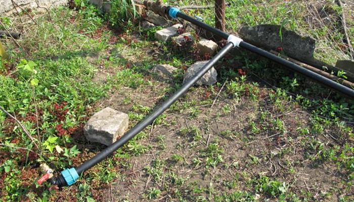 летний водопровод для садового участка