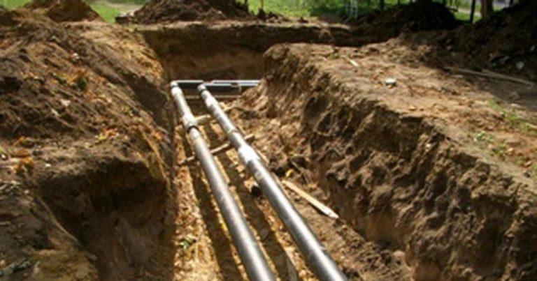 прокладка водопровода на загородном участке