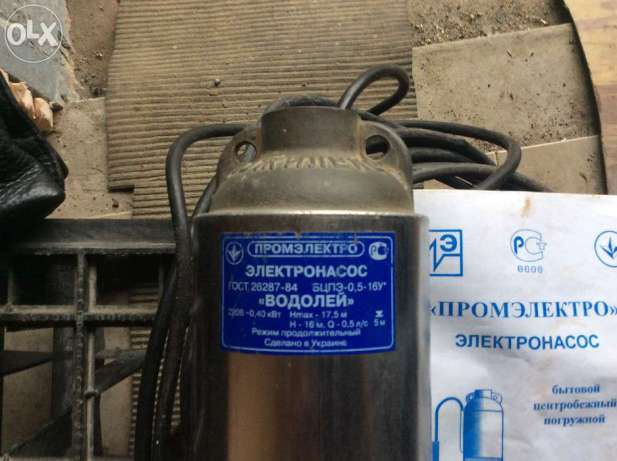 Глубинный насос водолей ремонт