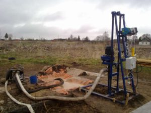 бурение скважины малогабаритной буровой установкой в Нижнем Новгороде