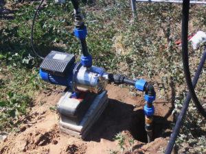 водоснабжение из скважины на воду