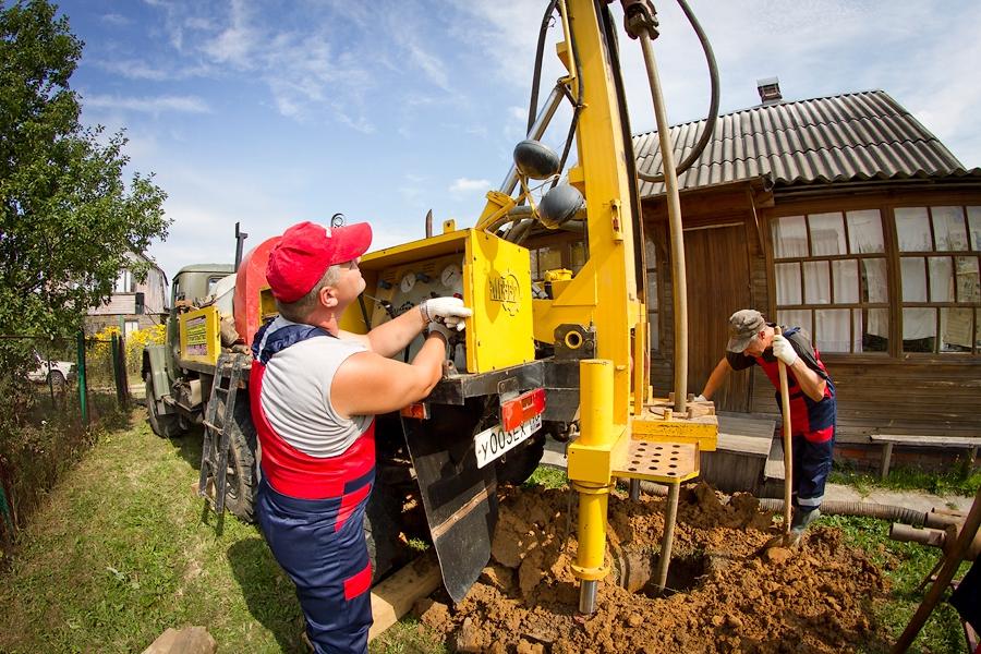 бурение на воду с обустройством скважины в Нижегородской области