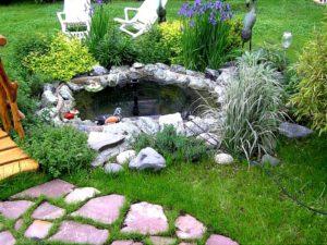 декоративные украшения для сада