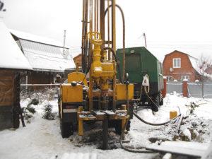 бурение скважины и подготовка ее к зиме