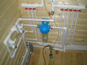 водоснабжение загородного дома из скважины