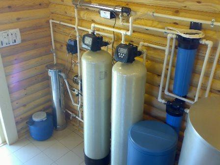 система фильтрации воды в загородном доме