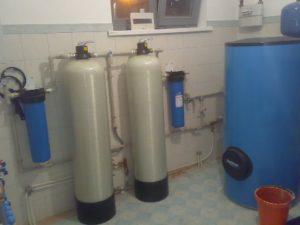 установка оборудования очистки воды