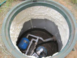 утепление скважины и подготовка ее к зиме
