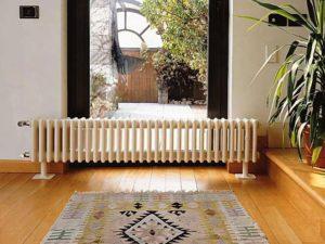 чугунные радиаторы в загородном доме