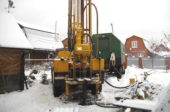 бурение скважин зимой в Нижнем Новгороде