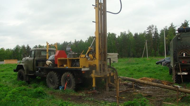 бурение фильтровой скважины в Нижегородской области
