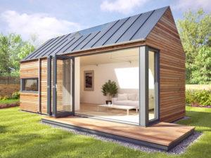 Загородный эко дом