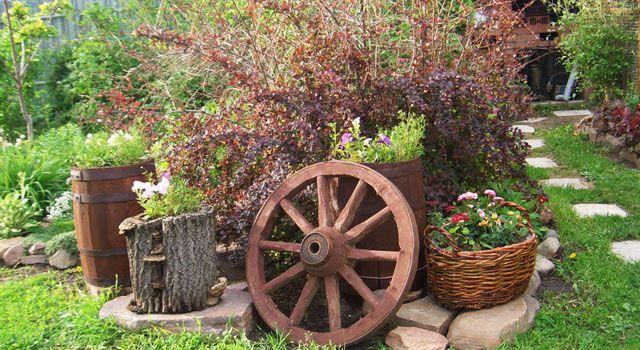 декор сада и загородного участка