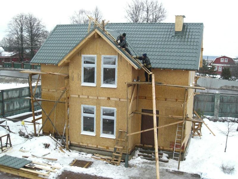 строительство загородных домов из сэндвич - панелей в Нижнем Новгороде
