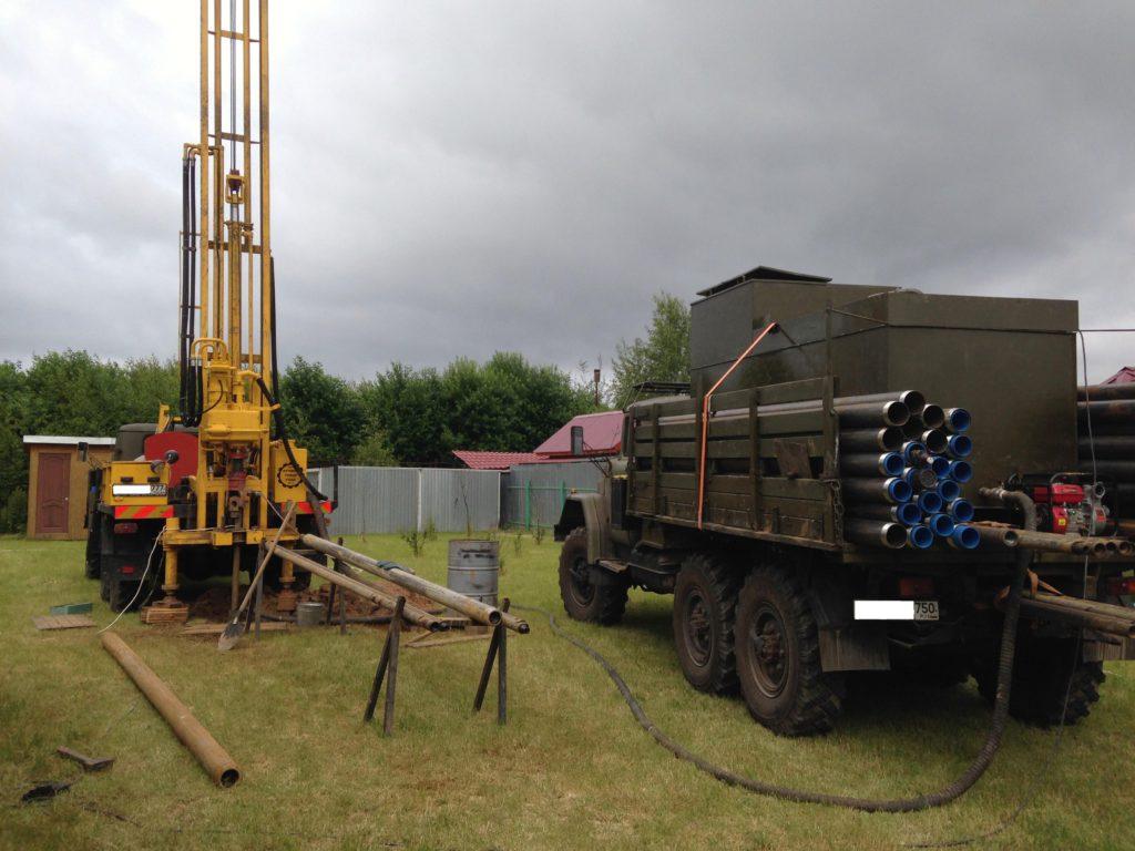 стоимость бурения скважин на воду в Нижегородской области