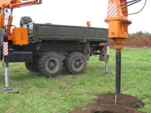 бурение скважин под винтовые сваи от Нижегородской буровой компании Буркомпани