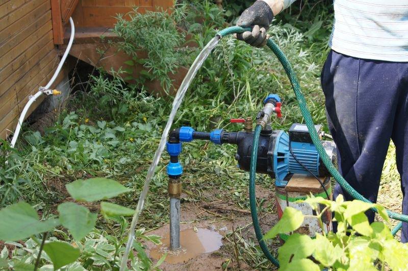 вода из скважины идет мутная