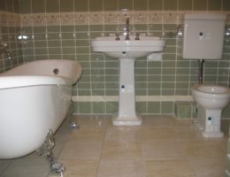 монтаж сантехники в частном доме