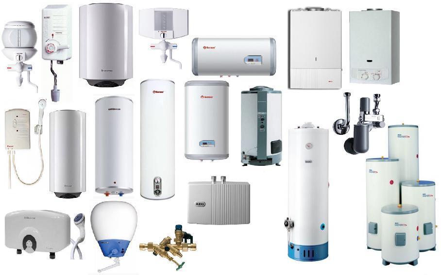 установка водонагревателя воды в доме