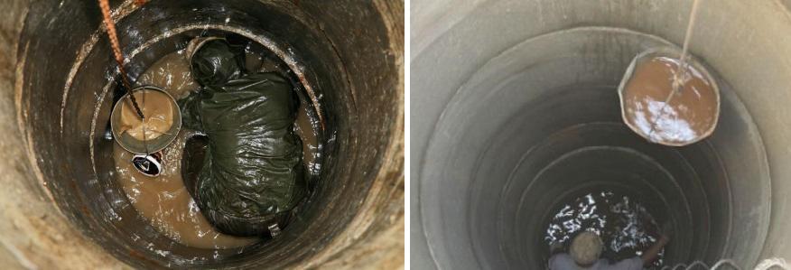 Очистка скважины от глины своими руками 24