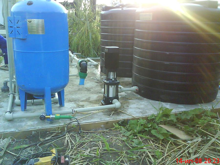 монтаж системы очистки воды в Нижнем Новгороде