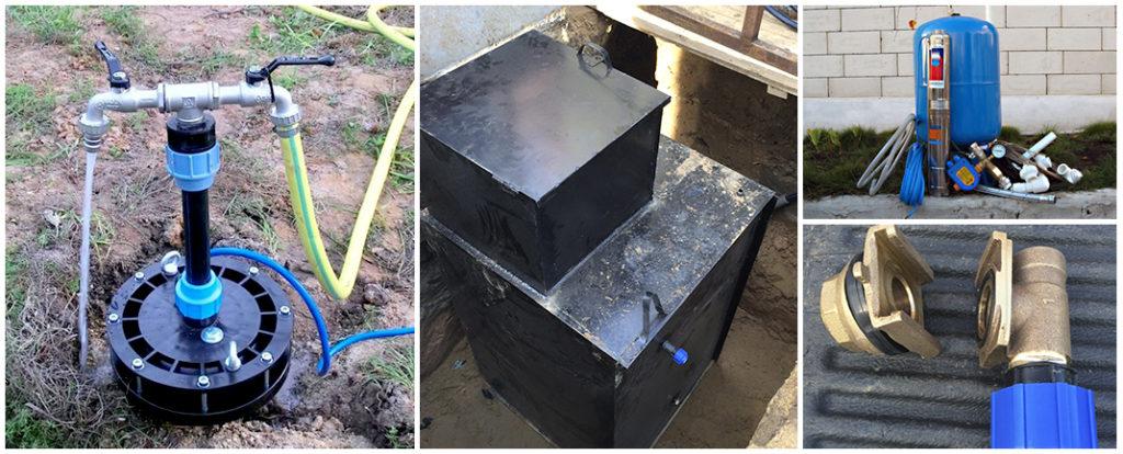 недорогое обустройство скважин в Нижегородской области - компания Буркомпани