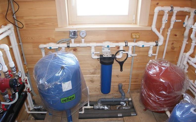 обустройство системы водоснабжения от скважины в загородных домах