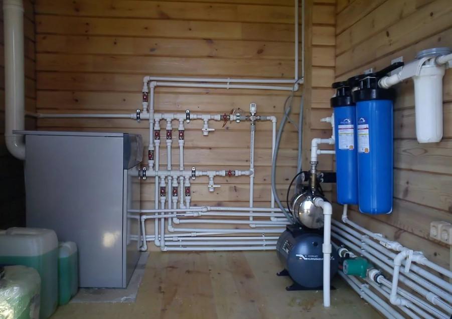 реконструкция системы водоснабжения в загородном доме