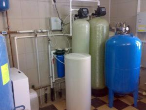 Реконструкция системы водоочистки