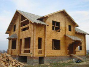 Дома из бруса по низкой цене