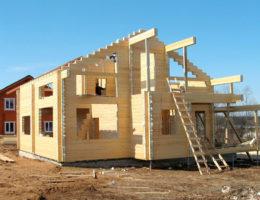 Заказать строительство дома из бруса